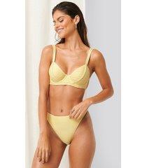 erica kvam x na-kd bikiniunderdel - yellow