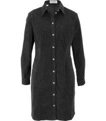 abito in velluto elasticizzato (nero) - john baner jeanswear
