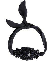 natori jeweled cuff bracelet, women's, silk