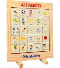 alfabeto giratório quadro - fundamental