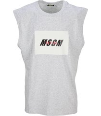msgm active logo t-shirt