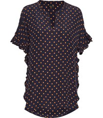 viona blouses short-sleeved zwart stella nova