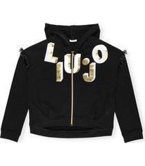liu-jo logo hoodie