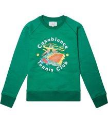 casa club printed sweatshirt