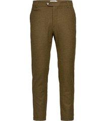como wool pants kostuumbroek formele broek groen les deux