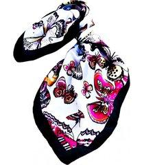 pañuelo bandana mariposas multicolor