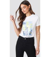 na-kd trend exhibition t-shirt - white