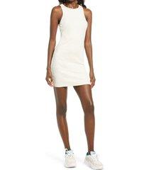 women's bp. sleeveless rib dress, size xx-small - ivory