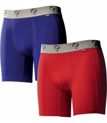 q1905 boxer 2-pack blue / red