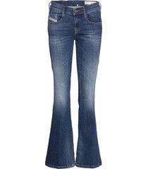 d-ebbey l.30 trousers jeans wijde pijpen blauw diesel women