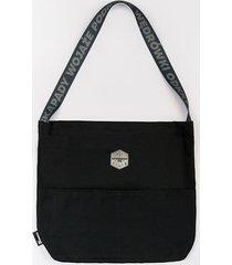 torba na ramię szwendam się czarna
