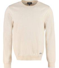 a.p.c. kit cotton-cashmere blend crew-neck pullover