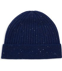 ribbed wool & cashmere beanie