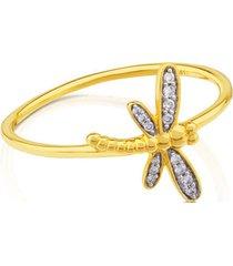 anillo tous bear 712255011 dorado mujer