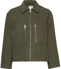 lidia jacket outerwear jackets utility jackets groen wood wood