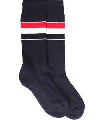 thom browne athletic mid socks