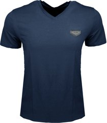 antony morato t-shirt avio blue v-hals