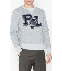 polo ralph lauren vintage fleece tröjor grey
