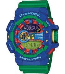 reloj g shock ga_400_2 verde resina hombre