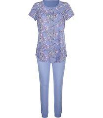 pyjama blue moon lavendel::ecru