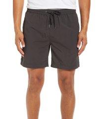 men's madewell everywear shorts, size xx-large - black