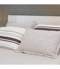 conjunto de lençol solteiro pertutty conforto toque macio