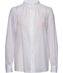 shirts/blouses long sleeve långärmad skjorta vit marc o'polo