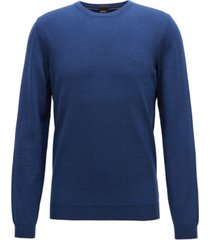 boss men's virgin wool v-neck sweater