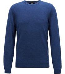 boss men's virgin wool v-neck sweater