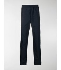 a.p.c. cotton-blend track-style trousers