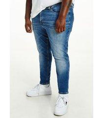 tommy hilfiger men's big and tall vintage wash skinny fit jean denim medium - 40/32