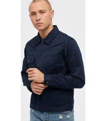 selected homme slhethan zip jacket w jackor mörk blå