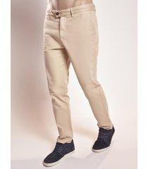pantalon beige lightning bolt chino steferns