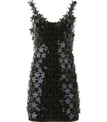 paco rabanne star sequins mini dress