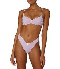 vintage underwire bikini top
