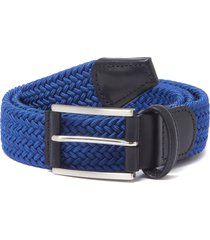 anderson's belts woven belt | blue | b0461