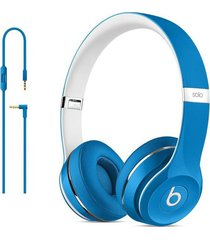 diadema beats solo2 luxe edition blue amer cableada