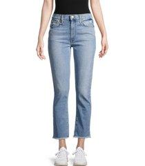 joe's jeans women's high-rise straight ankle jeans - atlas - size 31 (10)