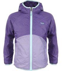 chaqueta two sides steam-pro hoody jacket violeta lippi