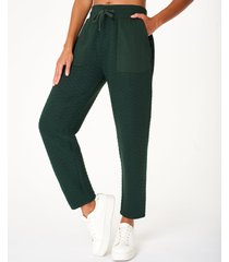 ramble quilted trouser