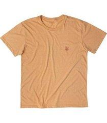 camiseta malha ecológica coqueiros mash masculina - masculino