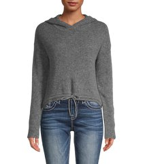 merino wool & cashmere hoodie