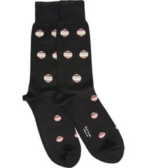 paul smith polka dot multistripes socks