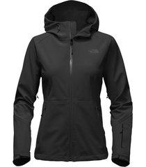 northface womens black apex flex gtx weatherproof hooded  active fit rain jacket