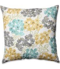 "luxury floral pool 24.5"" floor pillow"