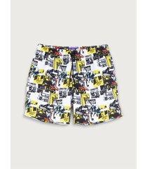 pantaloneta eco estampada para hombre freedom 01989