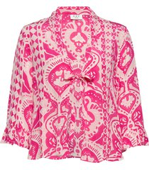 day bella blouse lange mouwen roze day birger et mikkelsen