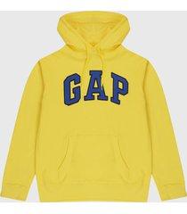 buzo amarillo-azul gap