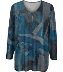 trui m. collection blauw::grijs