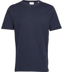 basic tee s/s t-shirts short-sleeved blå lindbergh